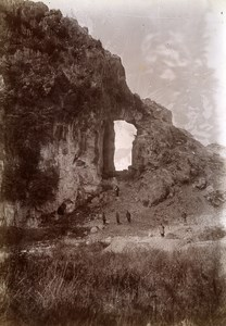 Near Lang Son Rocks Van Men Plain Vietnam Old Photo Tong Sing 1895