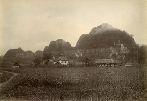 Cai Kinh Military Post French Occupation Vietnam Old Photo Tong Sing 1895