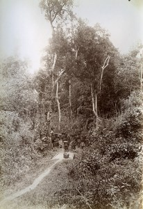 Na Peo to Dinh Lap Road French Occupation Vietnam Old Photo Tong Sing 1895