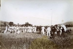 Binh Lieu shooting contest French Occupation Vietnam Old Photo Tong Sing 1895