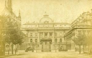 France Paris Law Court Old Cabinet Photo Debitte & Herve 1875