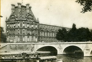 France Paris Tuileries Pavillon of Flore Old Cabinet Photo SIP 1900