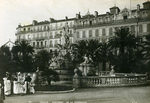 France Toulon Monument of the Federation Old Cabinet Photo SIP 1900