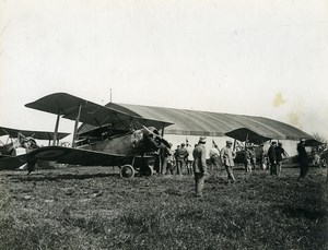 France WWI First World War Plane Sopwith Old Photo 1918