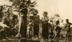 Vietnam Krong Kno Area Everyday Life Scene Old Photo 1937