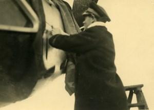 France Jean Monsarrat Pilot of Practical School of Aviation Istres Photo 1930