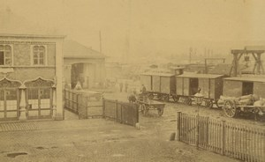France Train Railway Station Old Photo Anonymous 1870