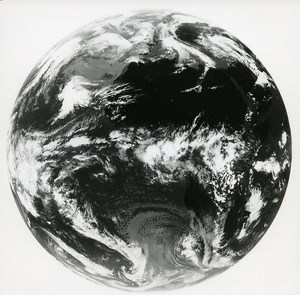 Europe Space Rocket Meteosat World old Photo 31 March 1978