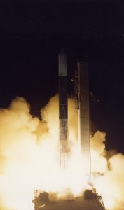 Europe Space Rocket Launch Meteosat ESA old Photo 1980