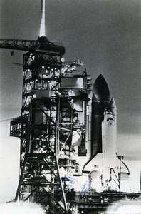 USA Space Shuttle Columbia Launch Laboratory Spacelab old Photo 1983