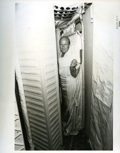 USA Houston Space Rocket Skylab Training Charles Conrad old Photo Nasa 1972