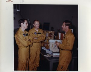 USA Houston Manned Spacecraft Center Astronaut Training old Photo Nasa 1972