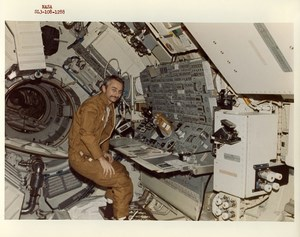 USA Space Rocket Skylab III Astronaut Owen Garriott old Photo Nasa 1973