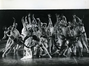 Paris Dance Ballet Bolshoi Dancers Group Old Photo Aigles 1960
