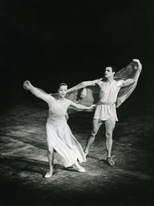Paris Dance Ballet Soviet Ballet Old Photo Bernand 1960