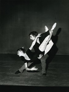 Paris Dance Ballet Bakou Opera Sorokina & Vladimirov Old Photo Bernand 1960