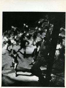 Paris Dance Ballet Christ on the Cross ? Old Photo anonymous 1960