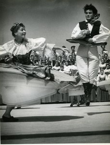 Poland Gdynia Ballet Polish Folk Dance Slask Old Photo Tadeusz Link Zaiks 1960