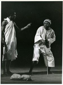 France Nancy Theater Festival Nigerian Troop Ald Photo Reynier 1970