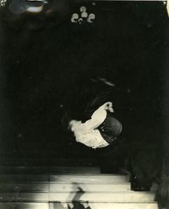 France Music Hall Circus Artist Bourbon Le Fou Dansant Old Photo 1960
