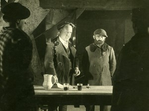 Spain Film Actor Writer Pio Baroja in Zalacain Cinema Old Photo 1930
