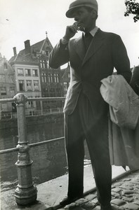 Belgium Bruges Actor Pierre Blanchar L'Empreinte du Dieu Cinema Old Photo 1939