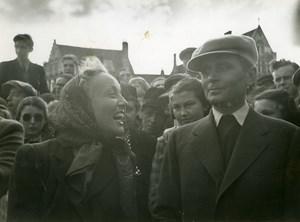 Belgium Bruges Pierre Blanchar Dita Parlo L'Empreinte du Dieu Old Photo 1939