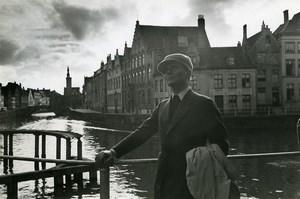 Belgium Bruges Pierre Blanchar L'Empreinte du Dieu Leonide Moguy Old Photo 1939