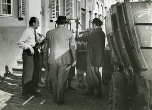 Belgium Bruges Pierre Larquey L'Empreinte du Dieu Leonide Moguy Old Photo 1939