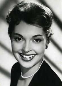 France Film Actress Nadja Tiller Cinema Old Photo 1960