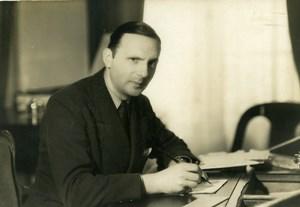 France Film Actor Pierre Bertin Cinema Old Photo Manuel 1935
