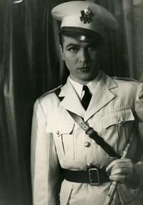France Film Actor Roger Dann Cinema Old Photo 1935