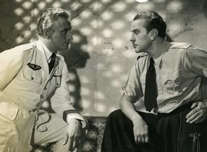 France Film Actor Jean Murat Military Cinema Old Photo 1935