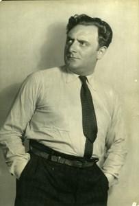 France Film Actor Philippe Richard Cinema Old Photo Isabey 1935