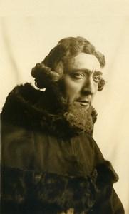 France Opera Singer Bass Baritone Vanni Marcoux Old Photo Berton 1935