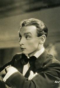 France Film Actor Jean Marconi Cinema Old Photo 1935