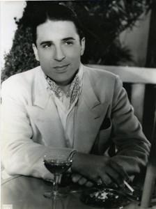 France Film Actor René Lestelly Cinema Old Photo Jandez 1935