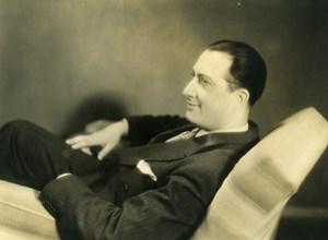 France Film Actor Romeo Carles in Les deux Monsieur de Madame Old Photo 1933