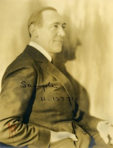 France Opera Singer Bass Baritone Vanni Marcoux Old Photo Mallet 1935