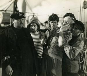 France Film Actors Le Vigan in Les Mutines de l Elseneur Cinema Old Photo 1935