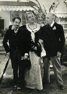 France Film Actor Lucien Barroux La Marraine de Charley Cinema Old Photo 1935