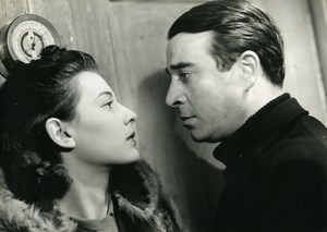France Film Actors Rene Dary & Marie Dea Nord-Atlantique Old Photo 1939