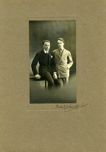 France Film Unidentified Actors Cinema Old Delaunay Photo 1935