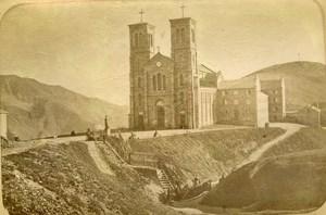 France Notre Dame de la Salette Church Old Photo Cabinet 1890