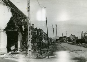 France Dunkerque Dunkirk & Around after WWII House Ruins Old Photo 1946