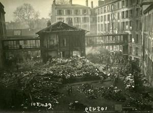 Paris Ministry of War WWI Aerial Raid by Aircraft Gotha Old Photo Branger 1918