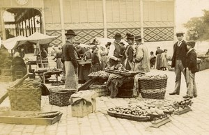France Angouleme Market Scene Old Photo H Billard 1893