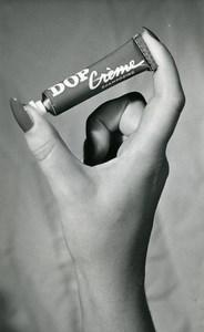 France Paris Hair Dop Shampoo Advertising Study Old Photo Rossignol 1960