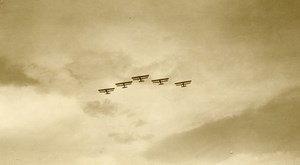 Malaysia Aviation Airshow Flying Airplanes Old Amateur Photo 1935