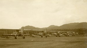Malaysia Aviation Aerial Meeting Military Aircrafts Biplanes Amateur Photo 1935